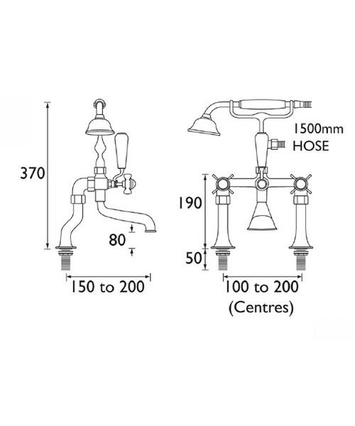Technical drawing 1274 / N LBSM G CD