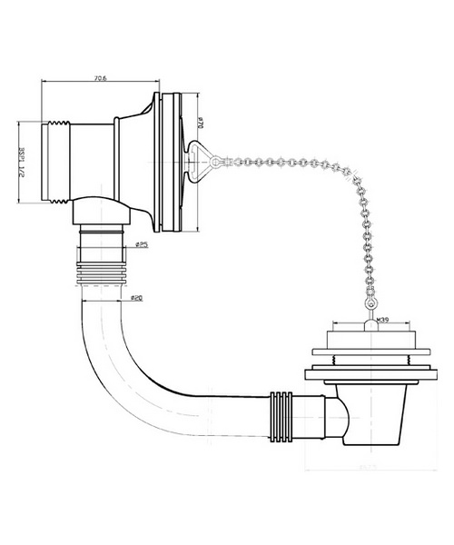 Technical drawing 12760 / E309