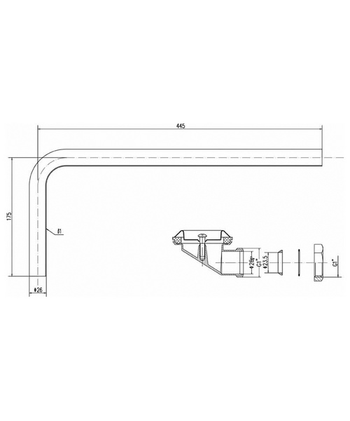 Technical drawing 12766 / EA381