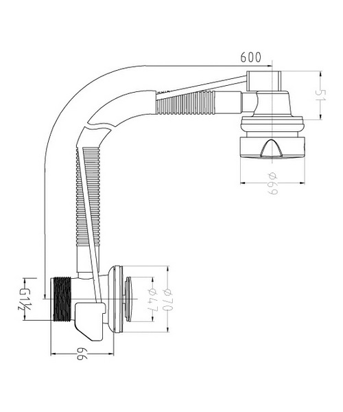 Technical drawing 12767 / EA318