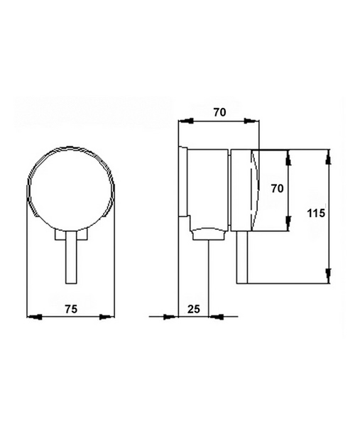 Technical drawing 12775 / E358