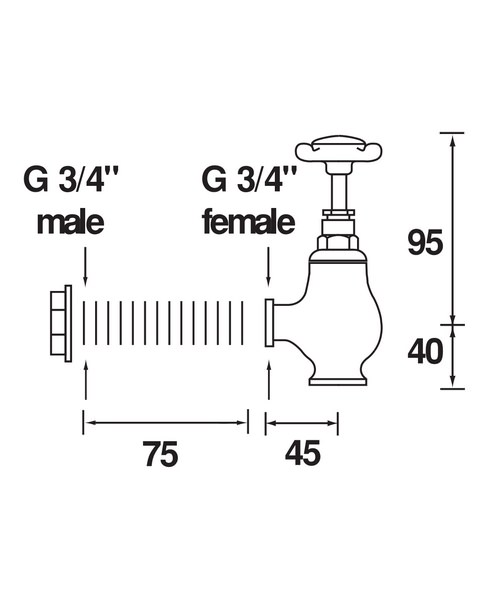 Technical drawing 1277 / N GLO C CD