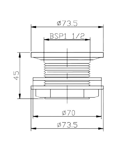 Technical drawing 12780 / E385