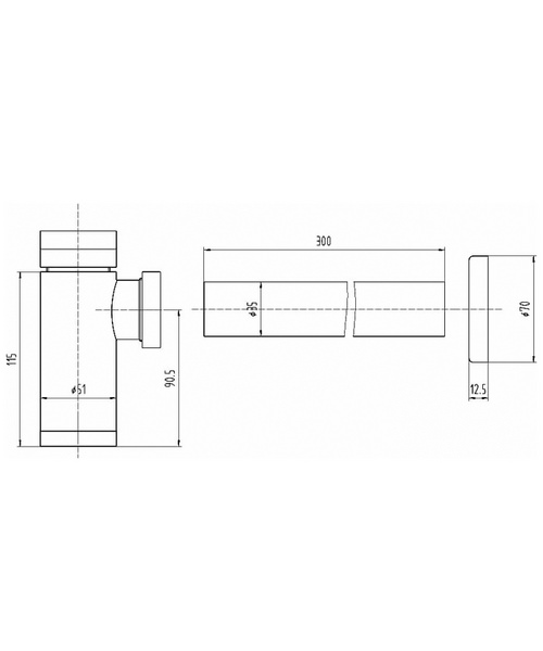 Technical drawing 12781 / EK302