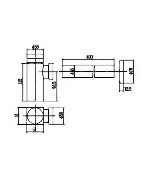 Technical drawing 12782 / EK306