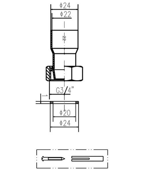 Technical drawing 12791 / DA314