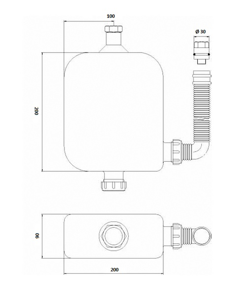 Technical drawing 12795 / SPR04