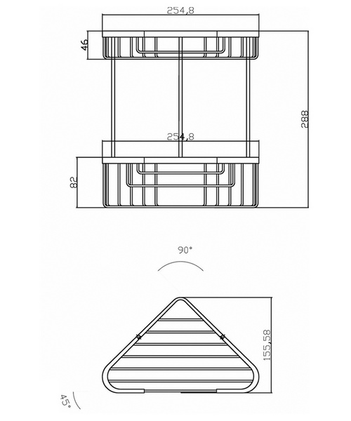 Technical drawing 12800 / LL308