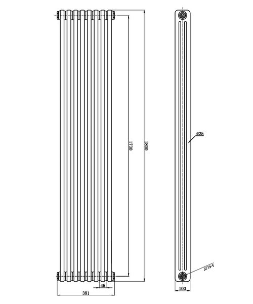 Technical drawing 12848 / HXS12