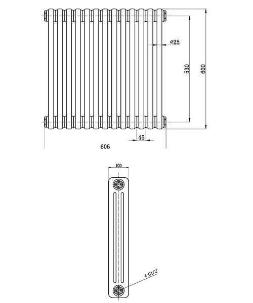 Technical drawing 12852 / HX304