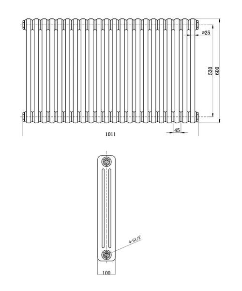 Technical drawing 12856 / HX306