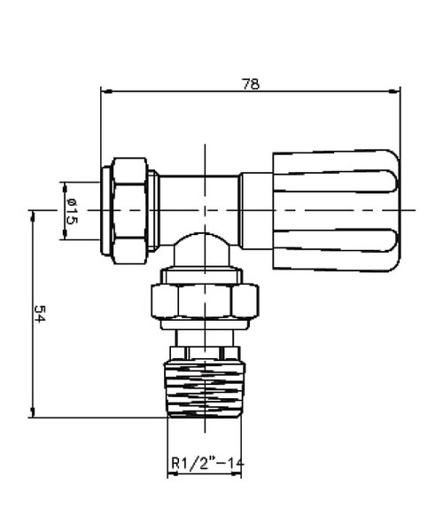 Technical drawing 12885 / RV003