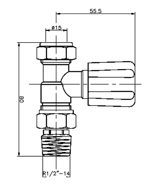 Technical drawing 12889 / RV004