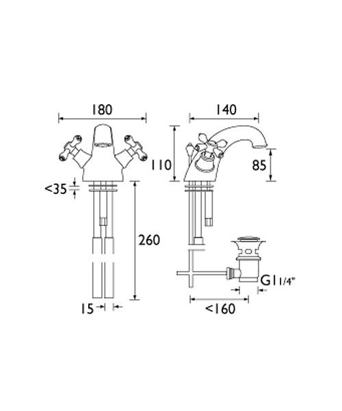 Technical drawing 1288 / K BAS G