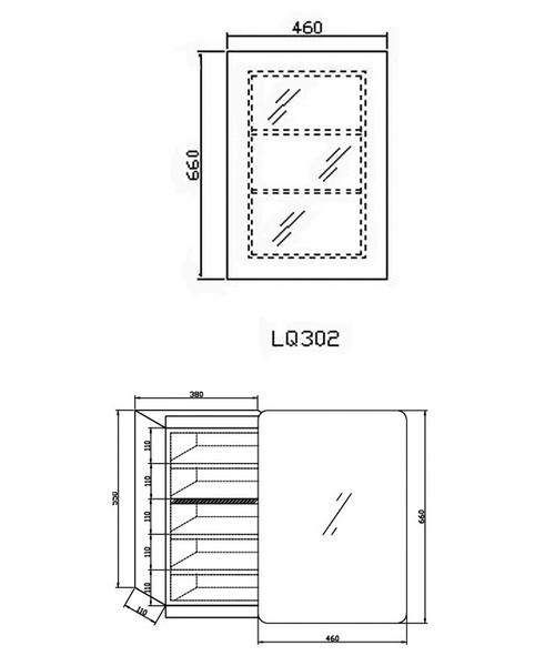 Technical drawing 12901 / LQ302