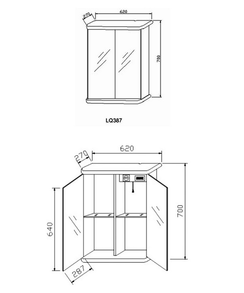 Technical drawing 12903 / LQ387