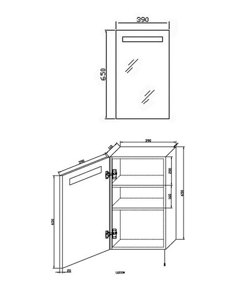 Technical drawing 12906 / LQ333