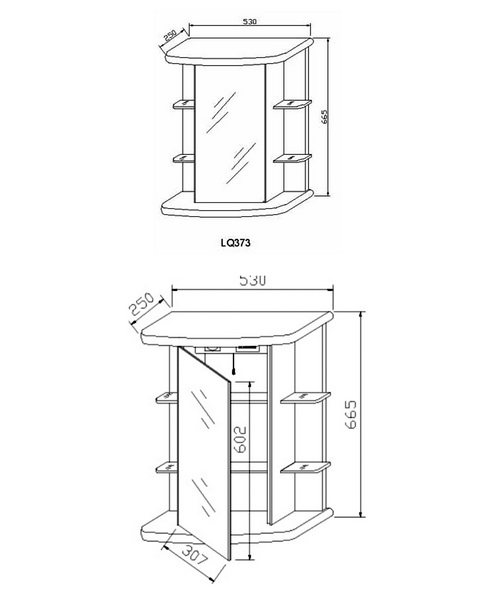 Technical drawing 12909 / LQ373