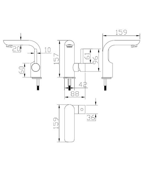 Technical drawing 13004 / EL110DNC