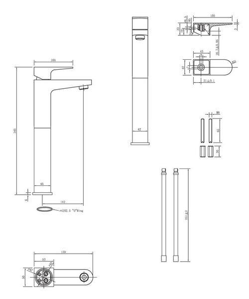 Technical drawing 13010 / MO112DNC