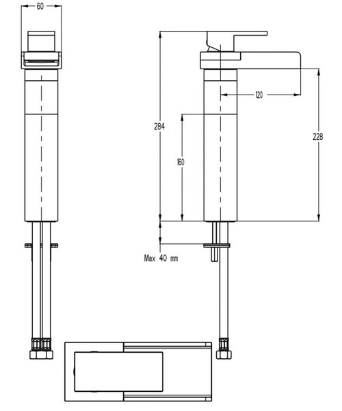 Technical drawing 13034 / WS112DNC