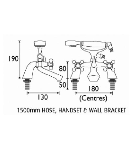 Technical drawing 1307 / R LBSM C
