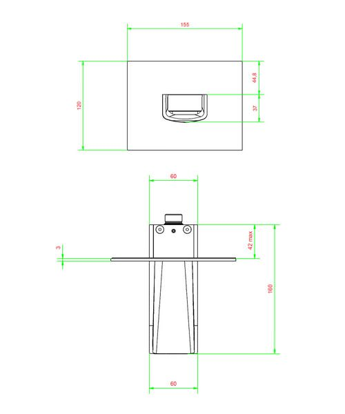 Technical drawing 13089 / LM0370WC