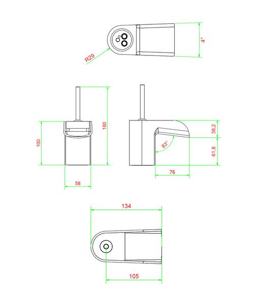 Technical drawing 13091 / LM110DNC
