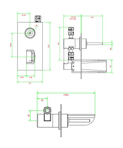 Technical drawing 13094 / LM121WC