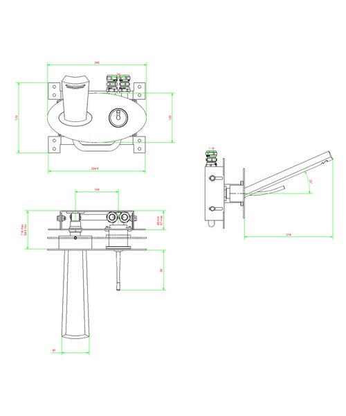 Technical drawing 13112 / GL121WNC