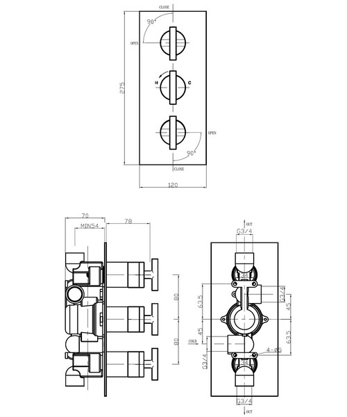 Technical drawing 13116 / GL2000RC
