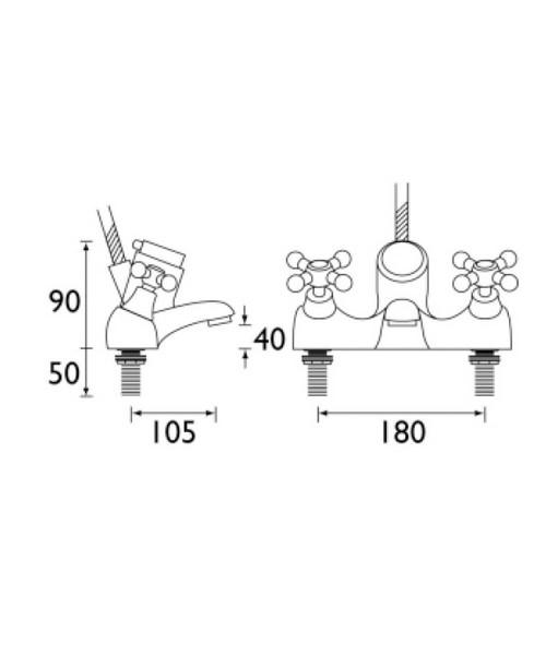 Technical drawing 1313 / R THBSM C