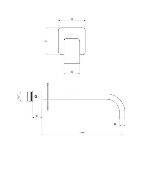 Technical drawing 13170 / EE0370WC
