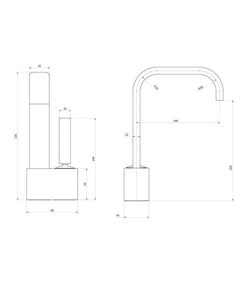 Technical drawing 13171 / EE110DNC