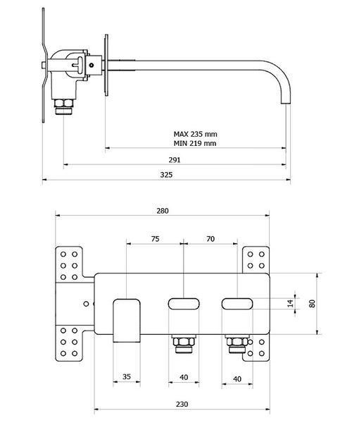 Technical drawing 13175 / EE321WC