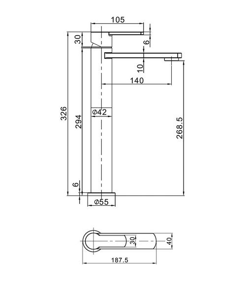 Technical drawing 13181 / WP112DNC