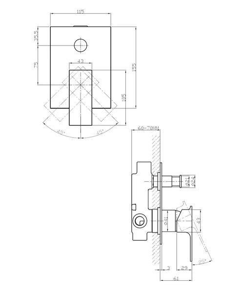 Technical drawing 13190 / SO0005RC