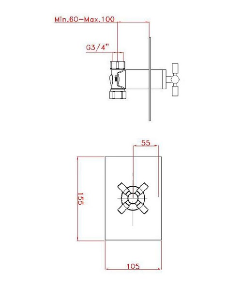 Technical drawing 13265 / TO0001RC