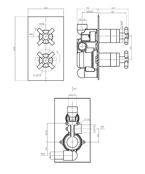 Technical drawing 13267 / TO1000RC