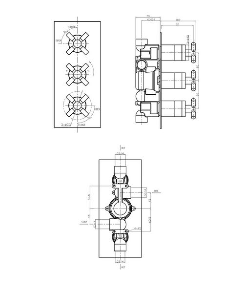 Technical drawing 13274 / TO2000RC
