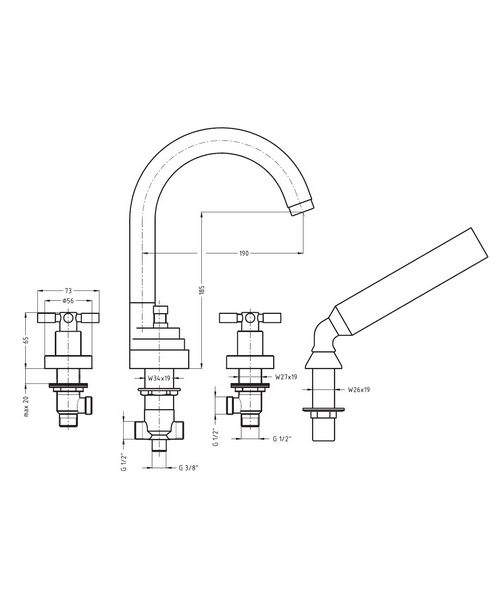Technical drawing 13283 / TO440DC