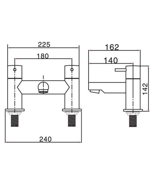Technical drawing 13314 / KL322DC
