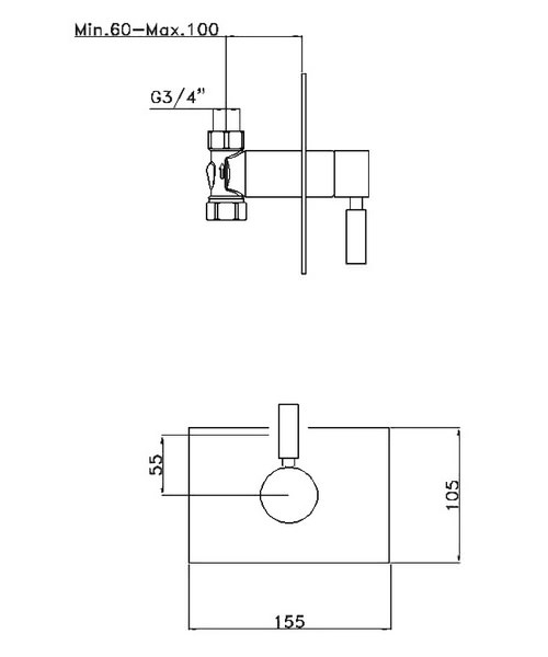 Technical drawing 13324 / DE0001RC