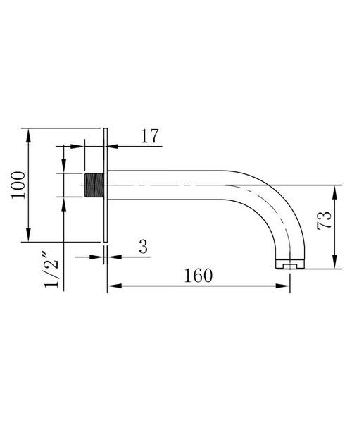 Technical drawing 13332 / DE0370WC