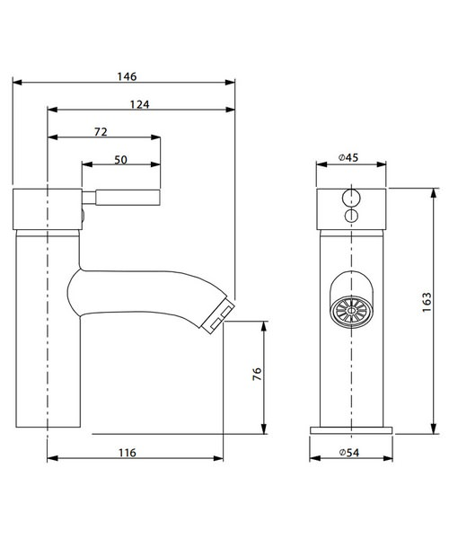 Technical drawing 13334 / DE110DNC