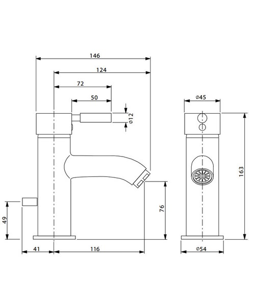 Technical drawing 13335 / DE110DPC