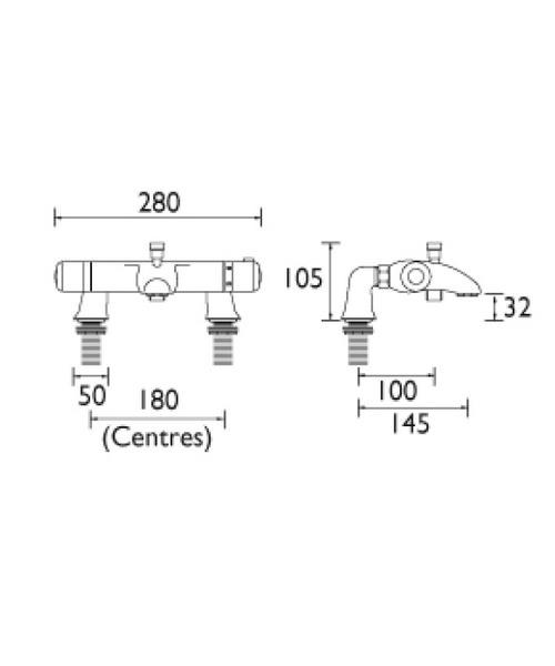 Technical drawing 1333 / AR THBSM C