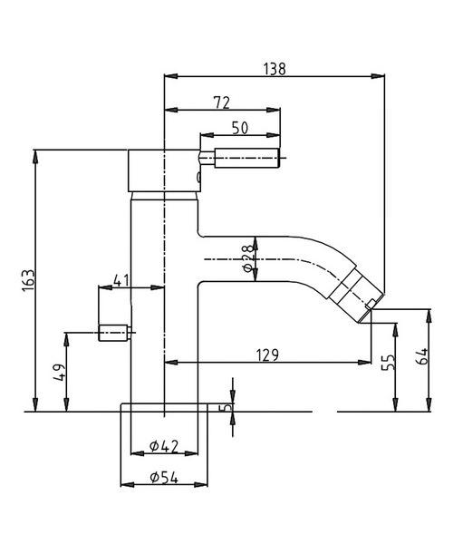 Technical drawing 13346 / DE210DPC