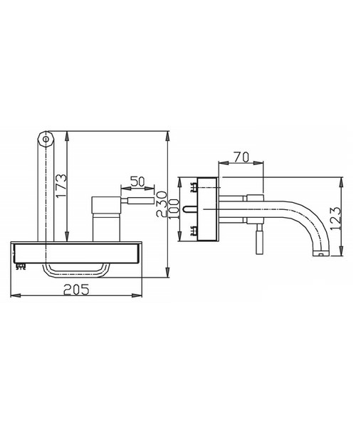 Technical drawing 13349 / DE321WC