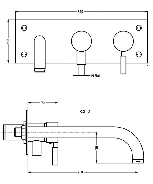 Technical drawing 13362 / DE431WC